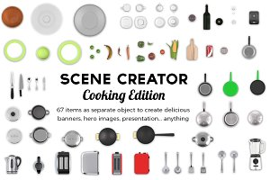 Scene Creator Cooking Edition