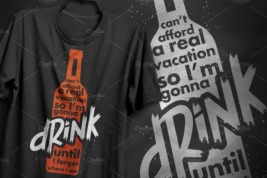 I'm gonna drink - T-Shirt Design