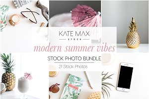 Modern Summer Vibes Stock Bundle