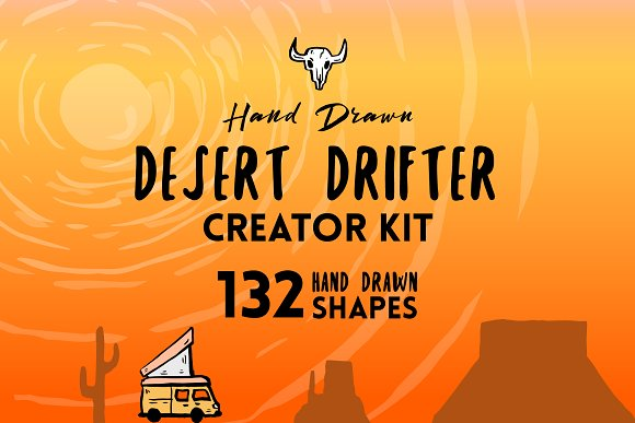 Desert Drifter Creator Kit-Graphicriver中文最全的素材分享平台