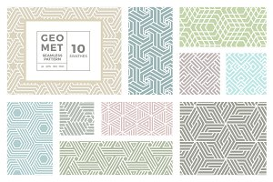 Geo Met Seamless Pattern Vol 3