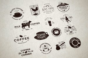 Badges for Coffee Collections