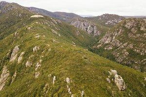On top of Mount Roland in Tasmania d