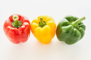 Bell pepper is a group.