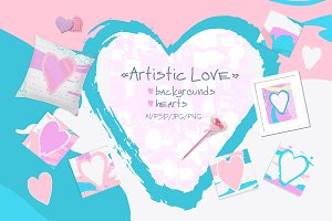 Artistic Love/Backgrounds