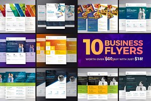 PSD Business Flyer Bundle