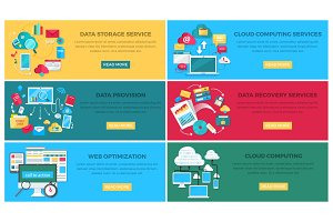 Data Storage Service and Web Optimization Poster