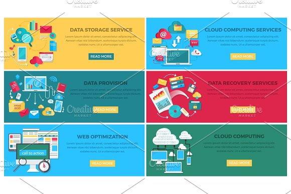 Data Storage Service and Web Optimization Poster
