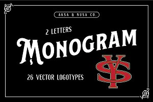 MONOGRAM - 26 Vector Logotypes