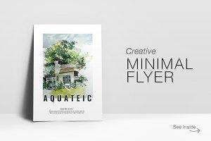 Creative Minimal Flyer