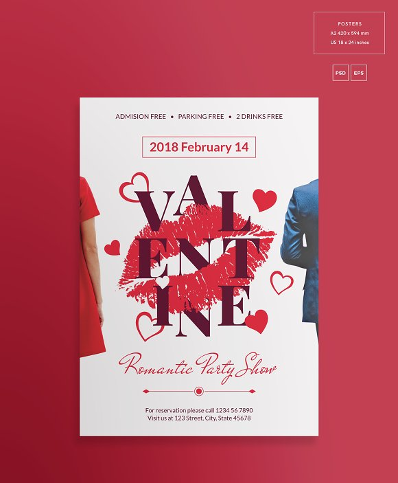 Promo Bundle | Valentine's Day Party in Templates - product preview 10