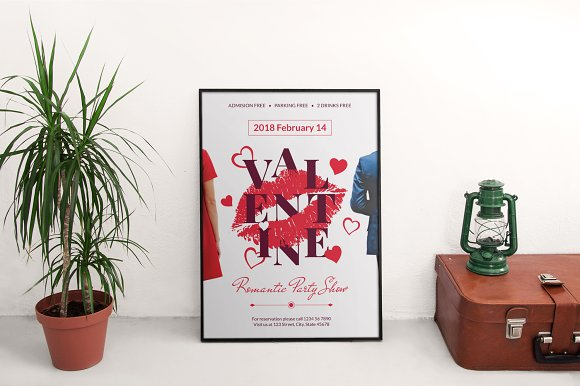 Promo Bundle | Valentine's Day Party in Templates - product preview 12