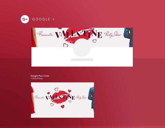 Social Media Pack | Valentine's Day in Social Media Templates - product preview 2