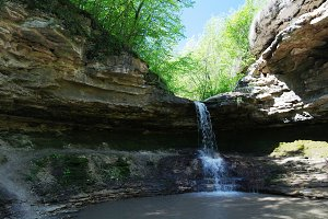 Gypsy Pit waterfall