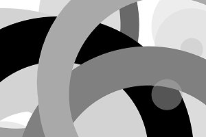 Abstract grey circles illustration background