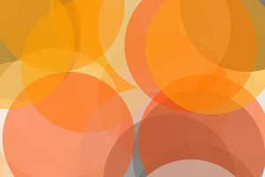 Abstract grey orange circles illustration background