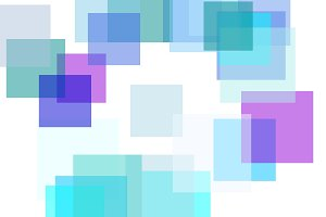 Abstract blue rectangles illustration background