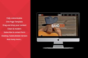 Bandzer – Music Muse Templates