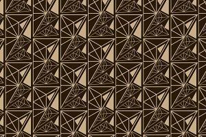 Geometric texture, retro