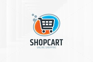 Shop Cart Logo Template