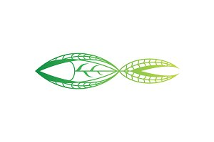 Abstract Fish - Logo Template