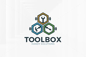 Tool Box Logo Template
