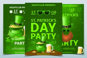Saint Patrick's Day Party Flyers