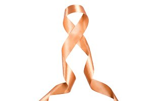 World Day against cancer ribbon