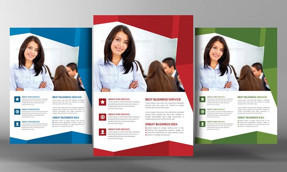Marketing Agency Flyer Template
