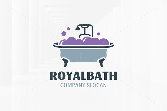 Royal Bath Logo Template