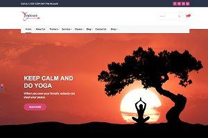 Yogasan - Health and Yoga WP Theme