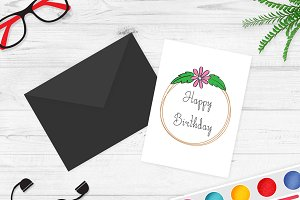 Greeting Card Mockup v4