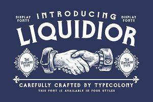 Liquidior Font (OFF 40%)