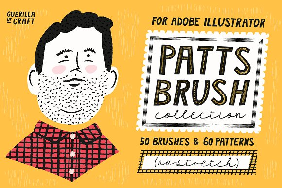 Patts Brush Collection-Graphicriver中文最全的素材分享平台