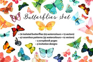 Butterflies and Seamless Patterns