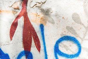 graffiti on the wall