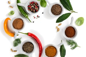 Cooking ingredients - herbs, spices
