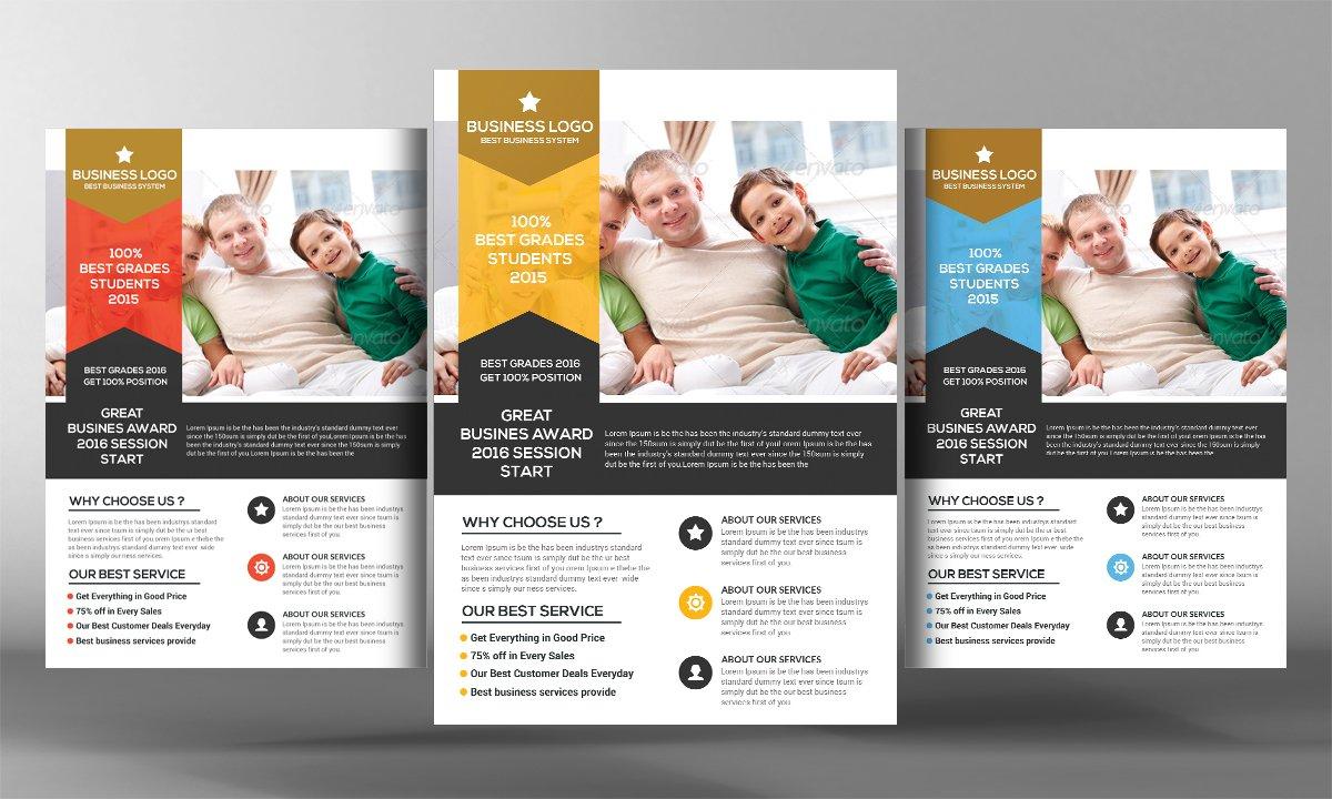 Medical Insurance Flyer Template Flyer Templates Creative Market - Insurance brochure template