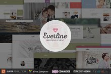 Everline - Wedding WordPress Theme by  in Wedding