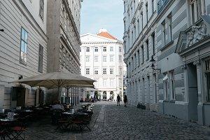 Pedestrian street in Vienna