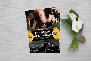 Fitness Flyer Template V748