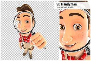 3D Handyman Magnifying Glass