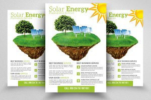 Save Energy Plan Flyer Template
