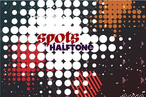 Set spots halftone