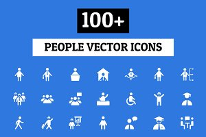 100+ People Vector Icons