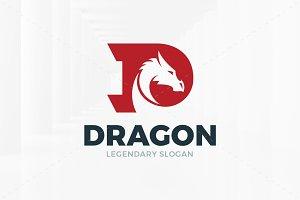 Dragon - Letter D Logo