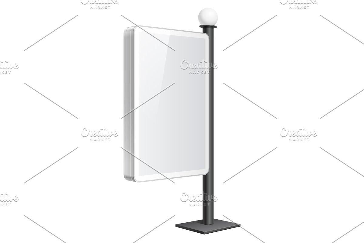 Realistic vector light box