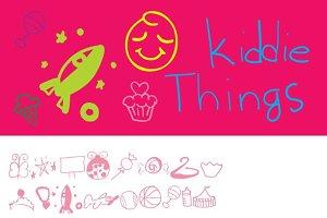 Kiddie Things Dingbats