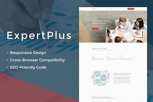 ExpertPlus Consulting Landing Page