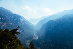 Yosemite - Tunnel View Landscape